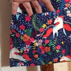 Dickies Tops - NWOT Women's Small Unicorn Magical Day Scrub Top